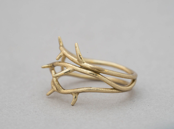 Thorn Ring No. 2 3d printed
