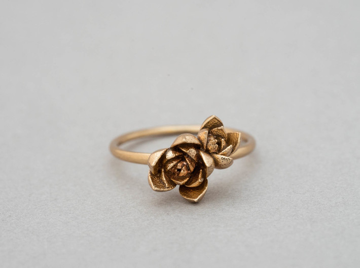 Succulent Stacking Ring No. 2 3d printed
