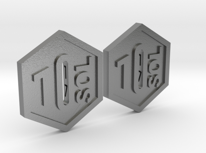 SOL Token 1SOL, Set of 2 3d printed