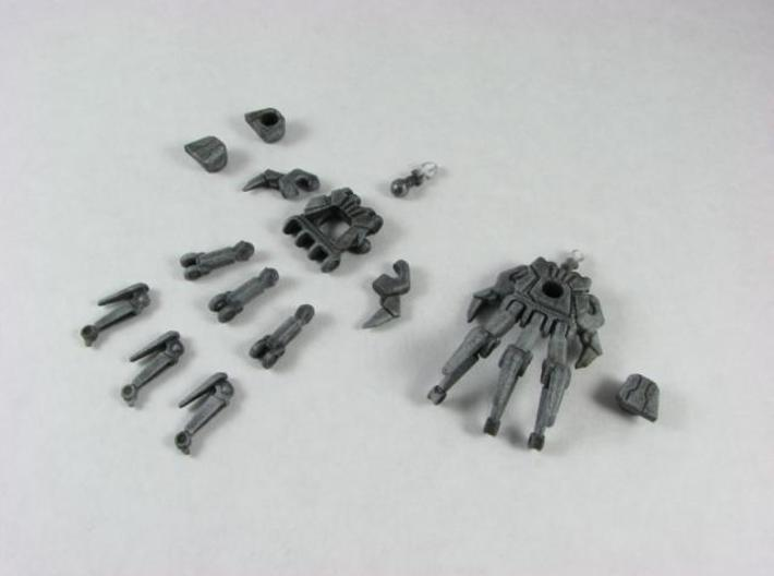 HFTD Leader Starscream poseable hands 3d printed Unassembled.