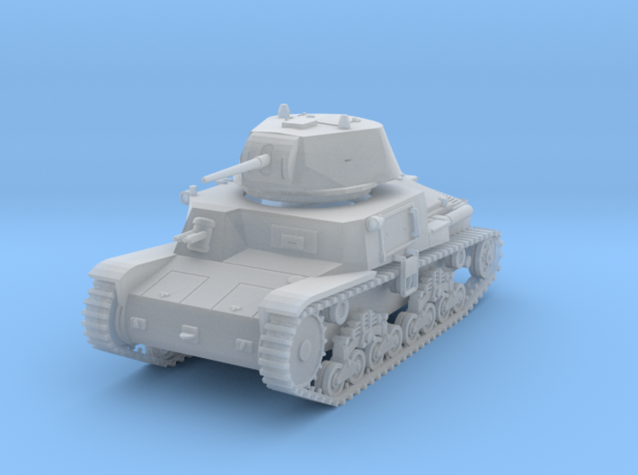 PV41D M13/40 Medium Tank (1/144) 3d printed