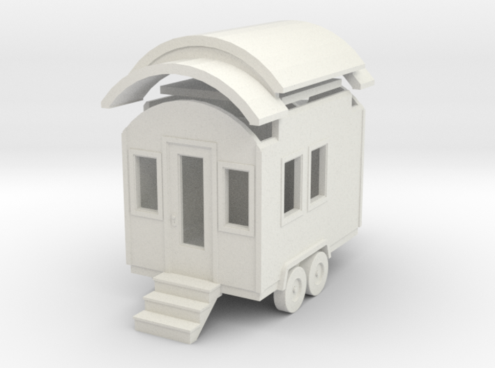 Tiny House #1 - 1:87 Scale Miniature 3d printed