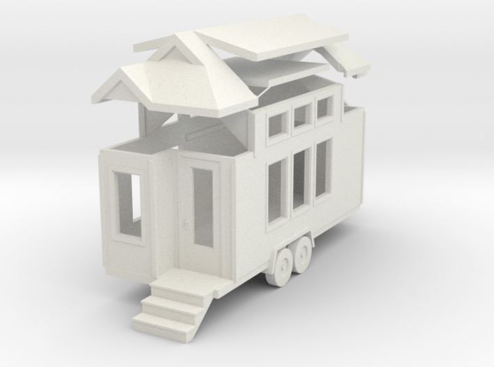 Tiny House #51 - 1:87 Scale Miniature 3d printed