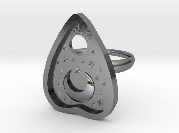 Mystic Planchette Ring size 8 3d printed