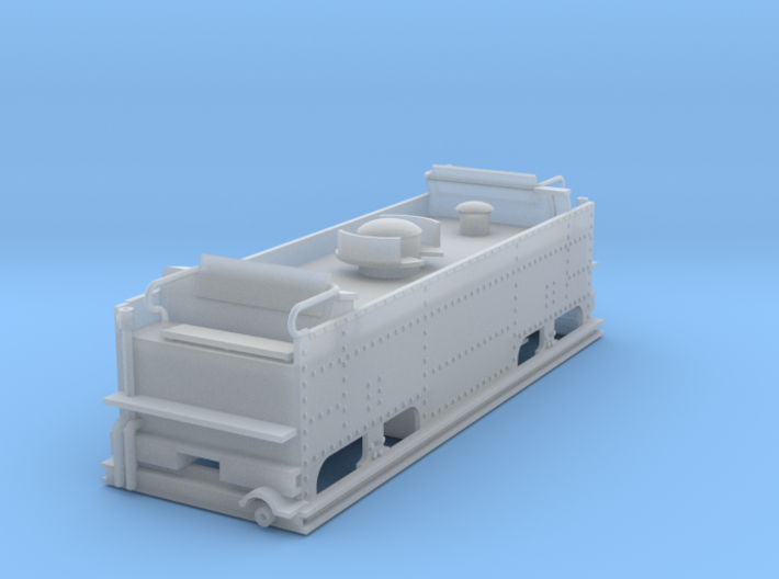 Feldbahn brigadelok tender 3d printed