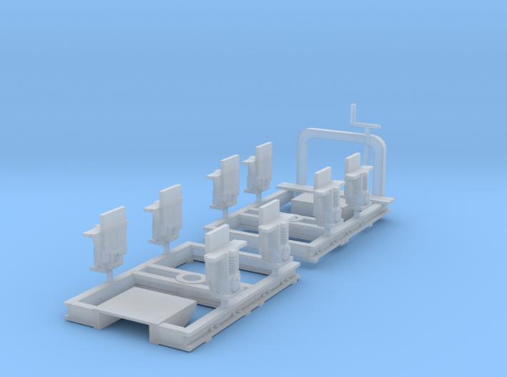 Ödeshög bogies 0e version 3d printed