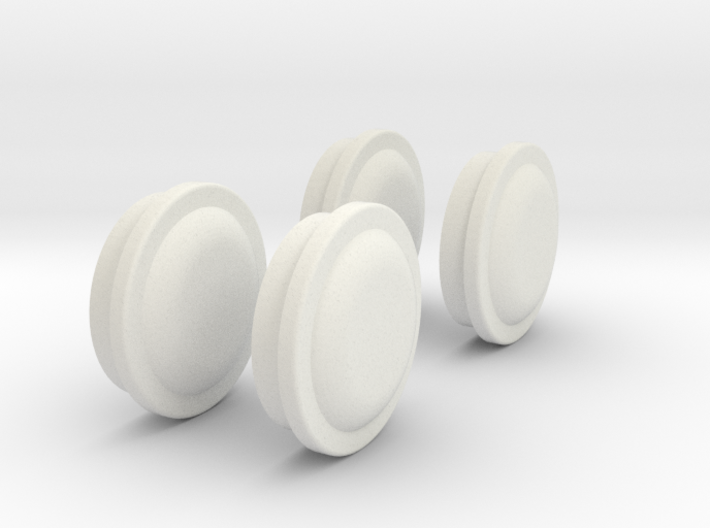 wheel-cap-set-3-mm-depth 3d printed
