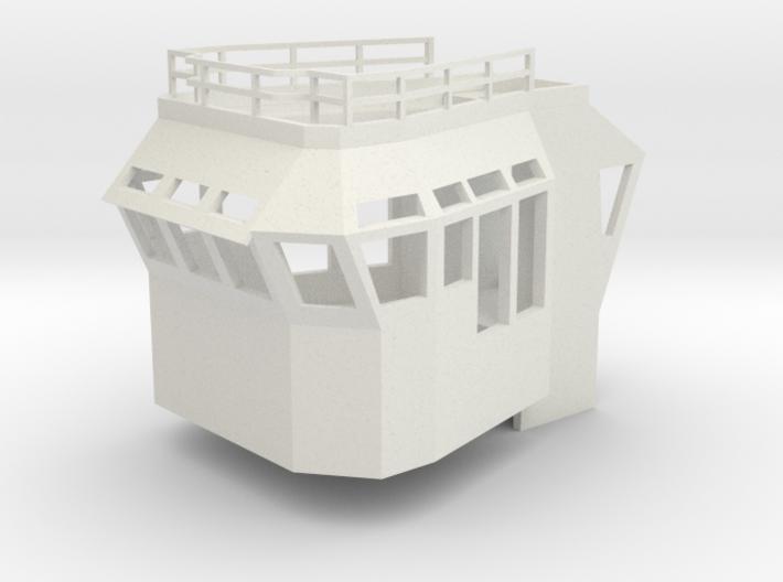 Basic Bridge fits 1/50 fits Harbor Tug 3d printed