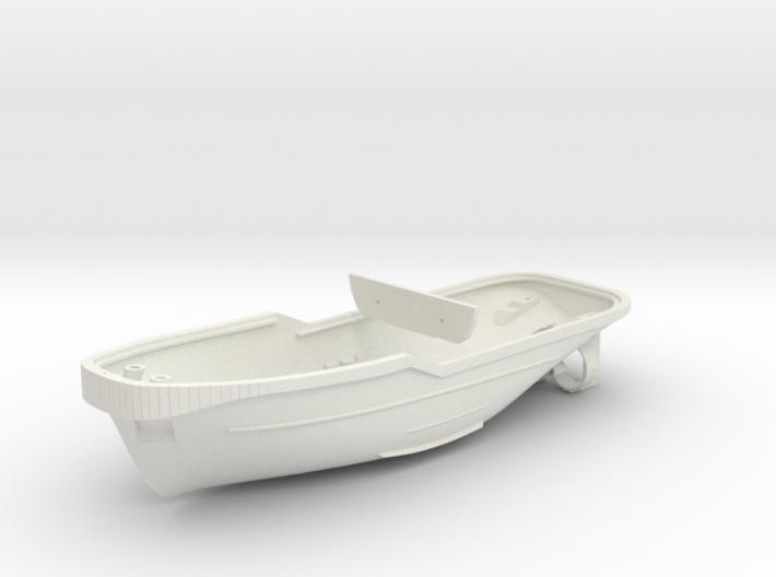 Harbor Tug Hull 1:50 V40 3d printed