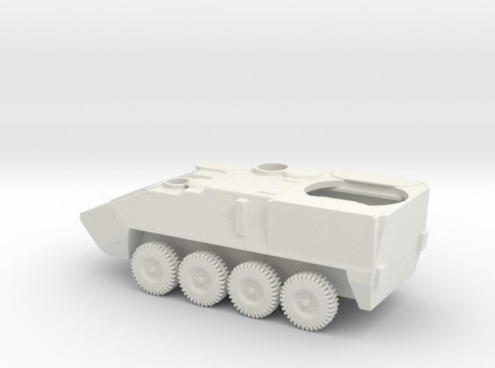 1/87 Scale Stryker Motar 3d printed