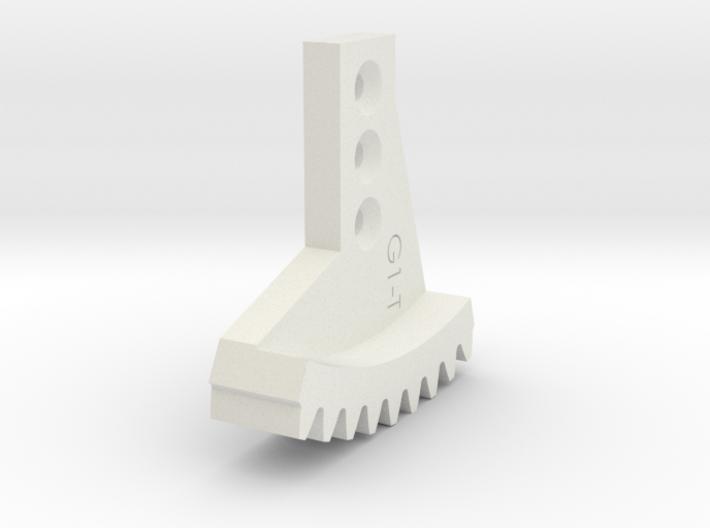 Metal/Plastic elevation gear rock for 16017 3d printed