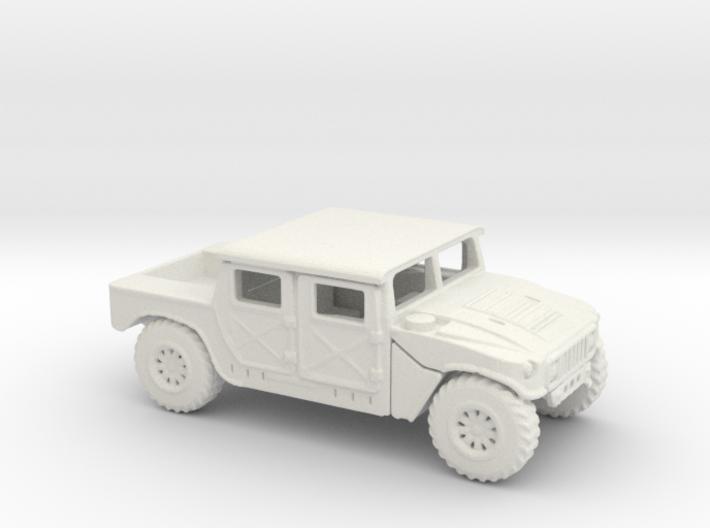 1/87 Scale HMMWV2 3d printed