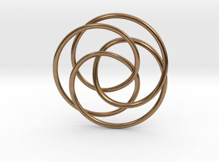 Rose Möbius 3d printed