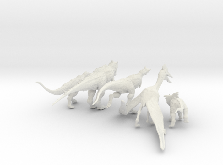 Mini Prehistoric Collection 4 3d printed Prehistoric Collection ©2017 RareBreed