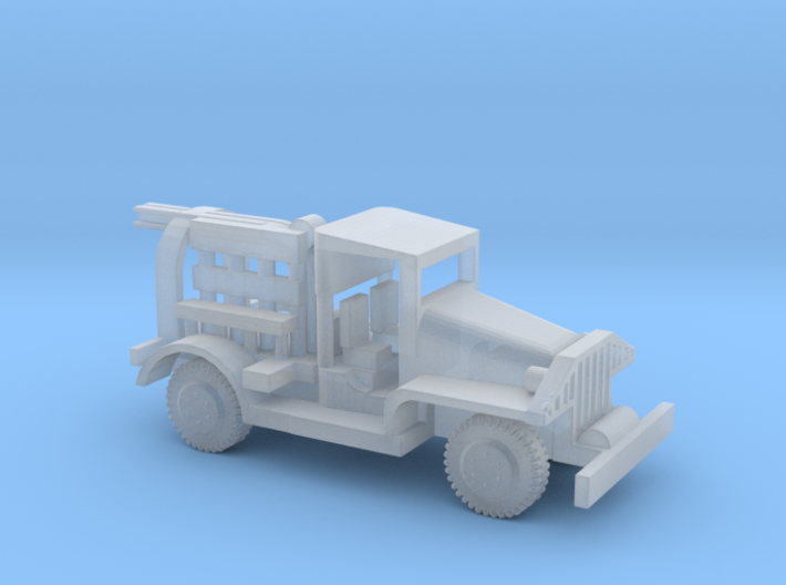 1/87 Scale M6 Bomb Truck 3d printed