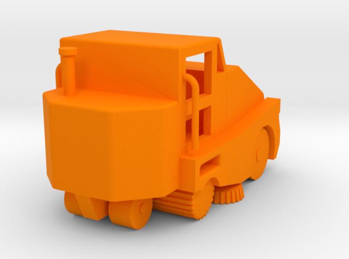 Pelican Street Sweeper HO 87:1 Scale 3d printed
