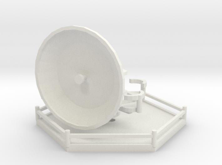 1/144 Wuerzburg Radar station 3d printed