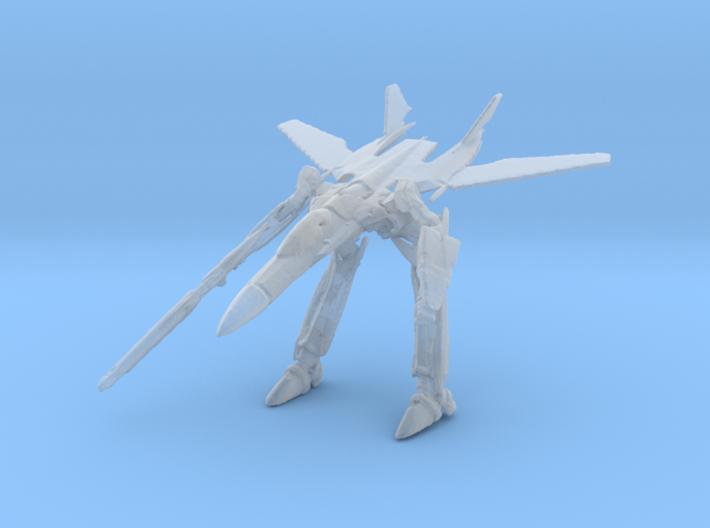 1/350 VF-25 Gerwalk Mode 3d printed