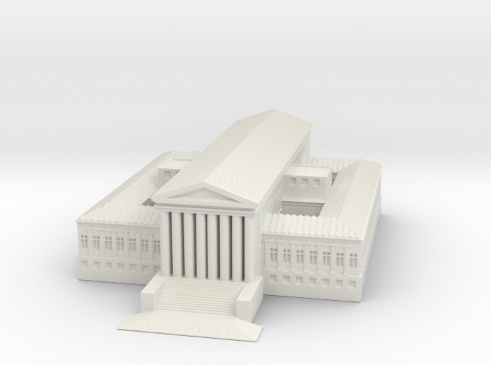 1/1000 US Supreme Court in FUD 3d printed