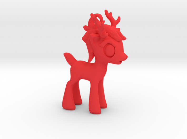 "My Little OC: Smol Reindeer 2""  3d printed"