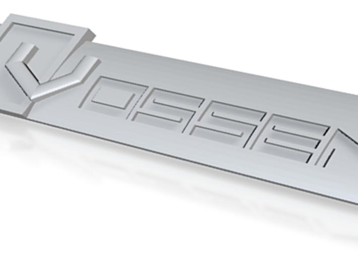 Audi Vossen Vline Badge 100mm.stl 3d printed