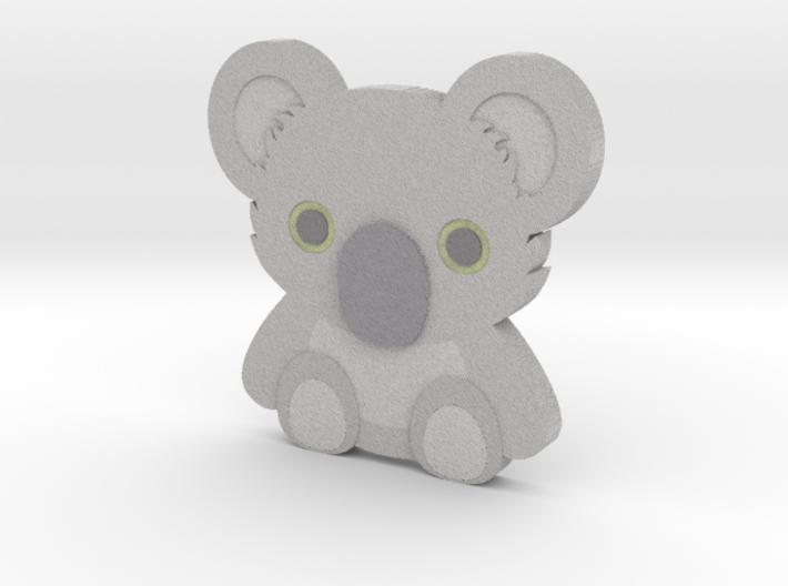 Emoji Koala 3d printed
