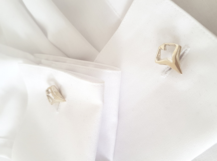 HEAD TO HEAD Matchless, Cufflinks 3d printed
