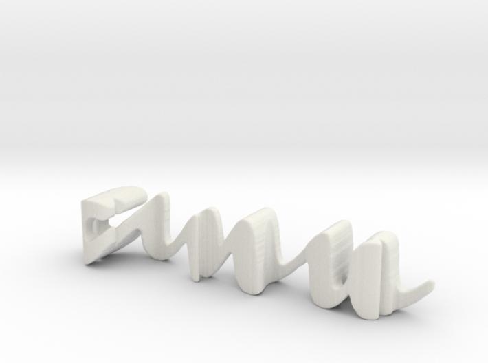 3dWordFlip: anu/iro 3d printed