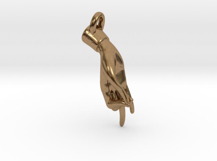 Hamsasyam Mudra Pendant/ Charm (Closed ) 2.5cm 3d printed