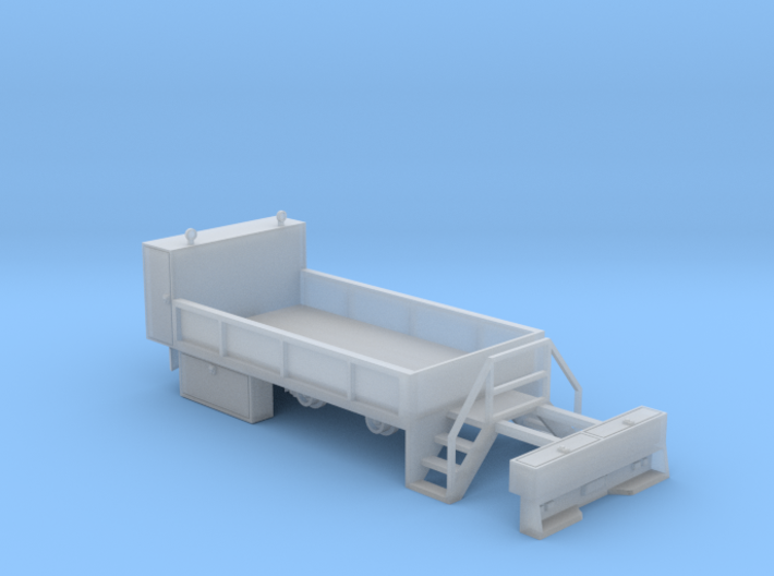 Rail Wheel Service Truck - No Crane - Hyrail With 3d printed