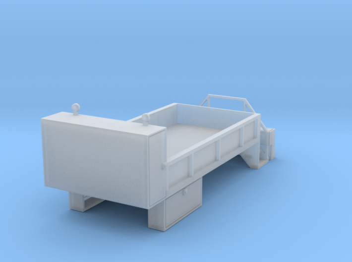 Rail Wheel Service Truck 1-87 HO Scale 3d printed