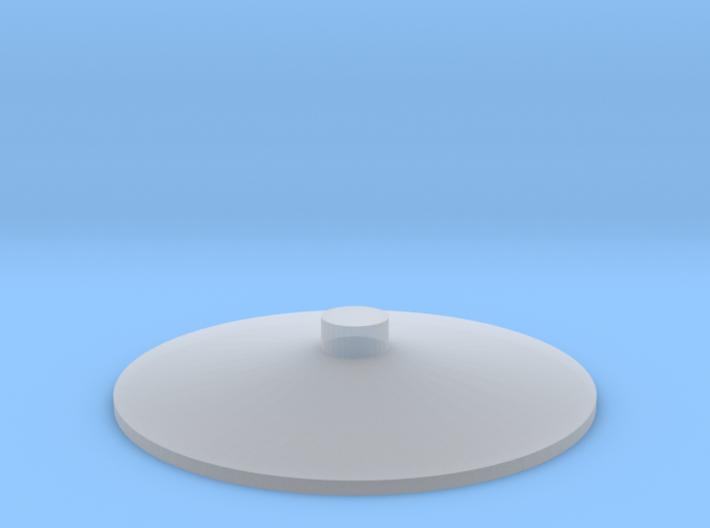"'HO and N Scale' - Storage Tank Top - 3/4"" PVC w/o 3d printed"