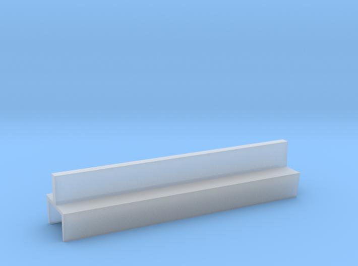 Profil 50mm Waggon-Sitzbank doppelt niedrig FUD/FE 3d printed
