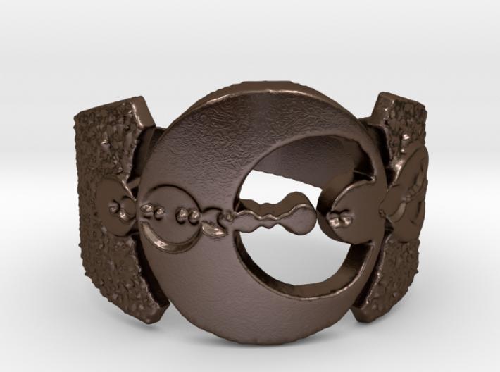 Andorian Emblem Open Ring 3d printed