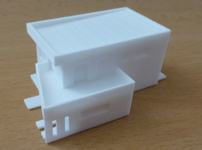 Family house 3d printed