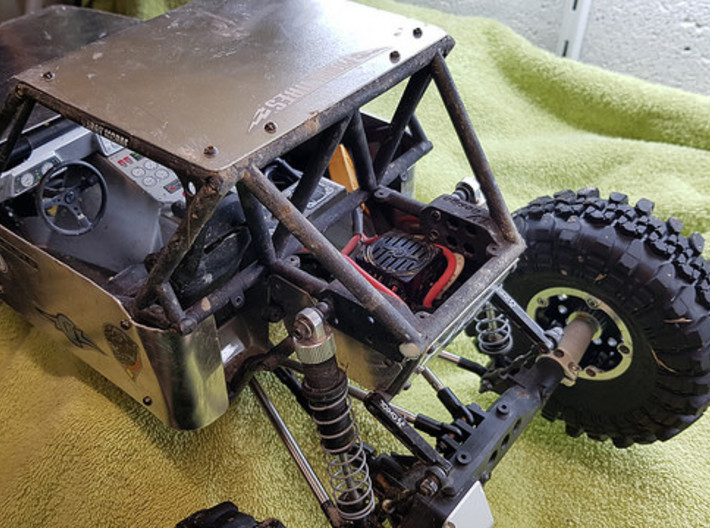 Axial Wraith Fastback Full Conversion kit V2 3d printed