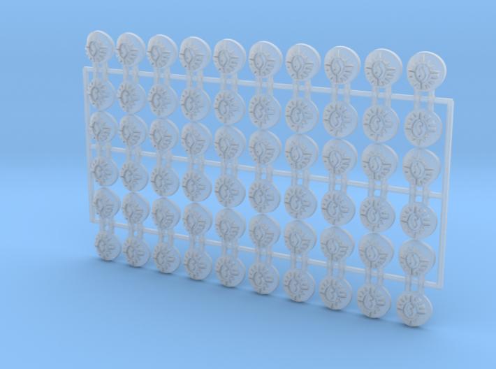 60x Consecrators : Shoulder Insignia pack 3d printed
