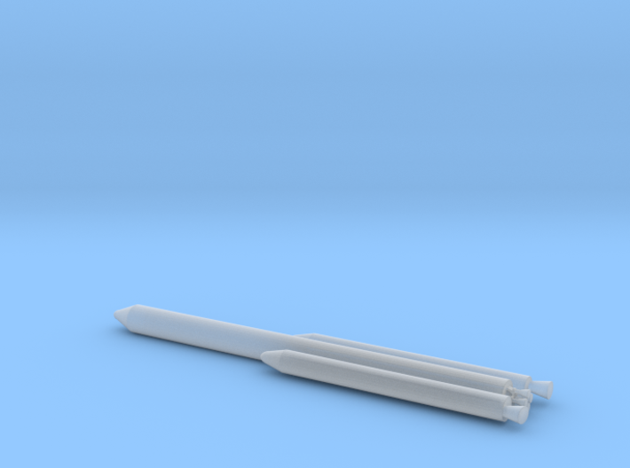 1/400 Scale Titan III L2 Rocket 3d printed
