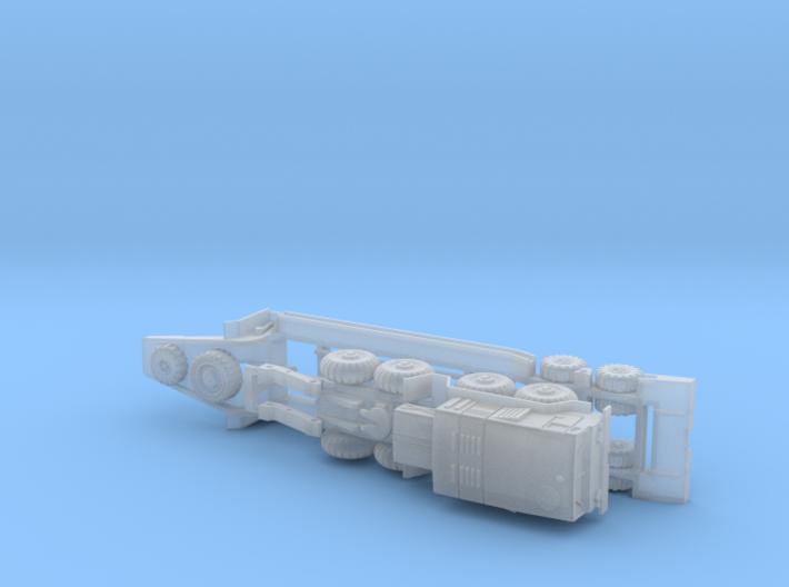 MAZ 543 Tank Transporter 1/285 6mm 3d printed