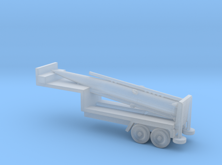 1/285 Scale Pershing Missile Tailer 3d printed
