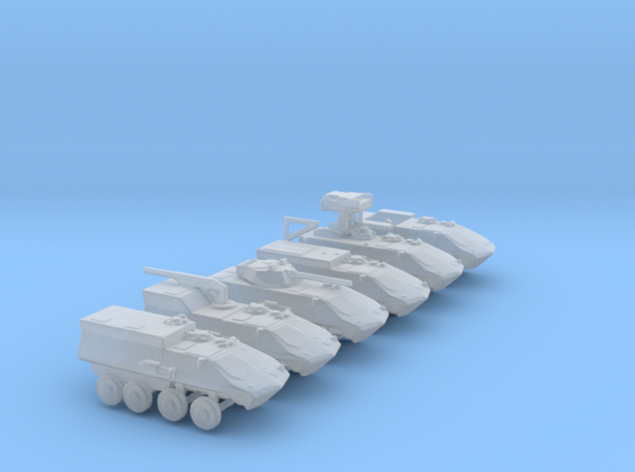 1/285 Scale LAV25 Set Of 6 3d printed