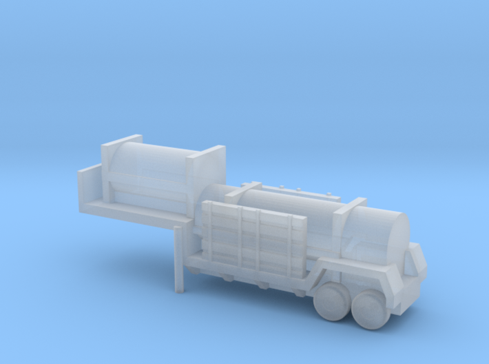 1/285 Scale Sergeant Missile Trailer 3d printed