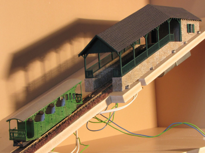 HOfunMD02 - Mont Dore funicular 3d printed