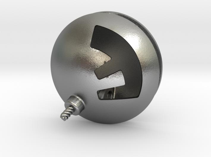 F-Bomb Pendant 3d printed