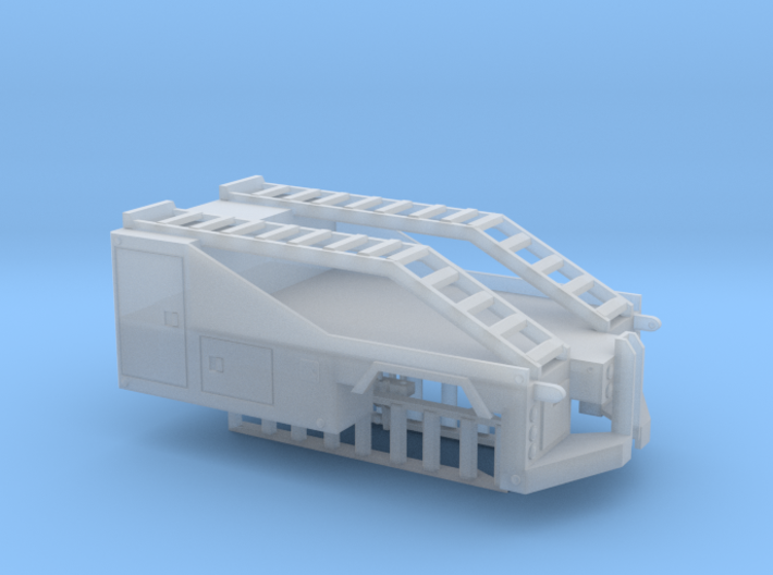 1/87th Mobile Home tug or equipment truck body 3d printed