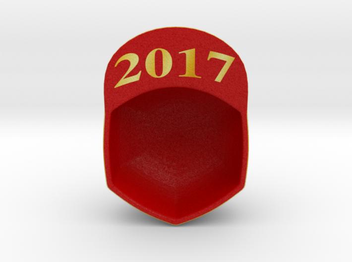 Trump Make America Great Again Red Hat Ornament 17 3d printed