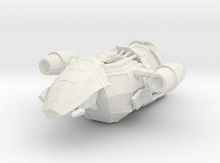1/1000 Scale Mk-1 Freighter 3d printed