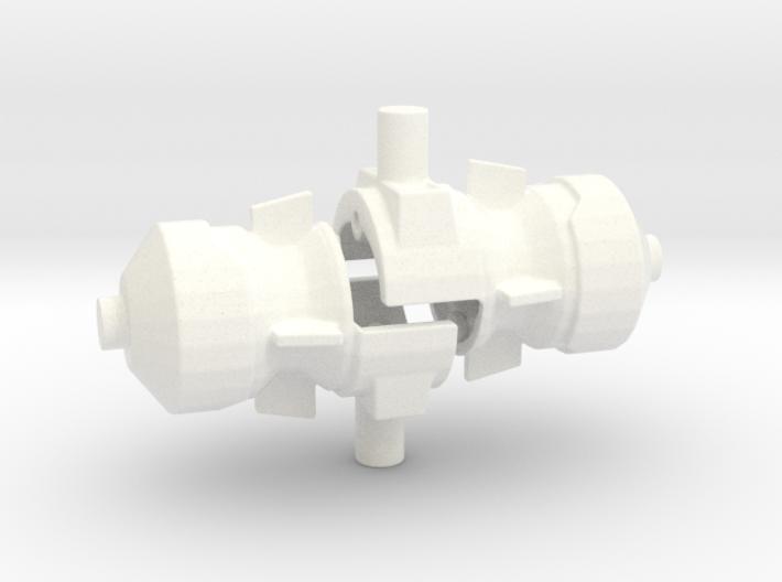 FoC Combiner Wars Magnus Hammer/Launcher 3d printed