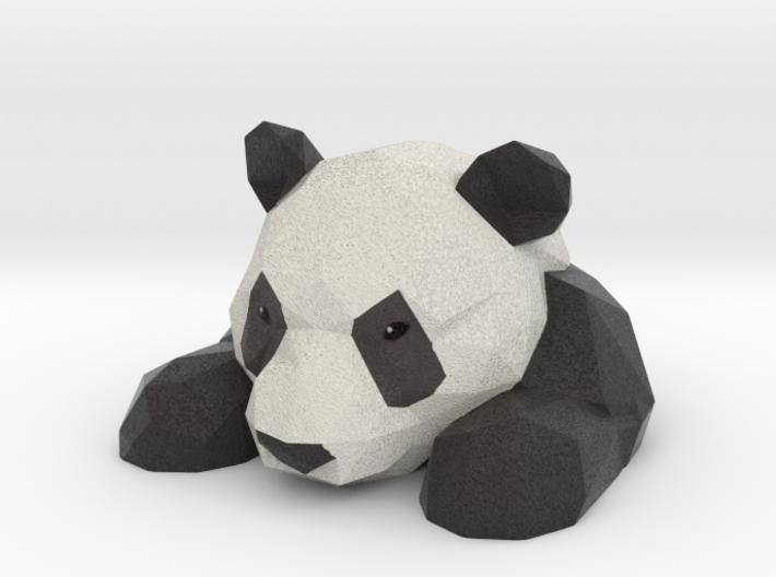 panda/polygon 3d printed