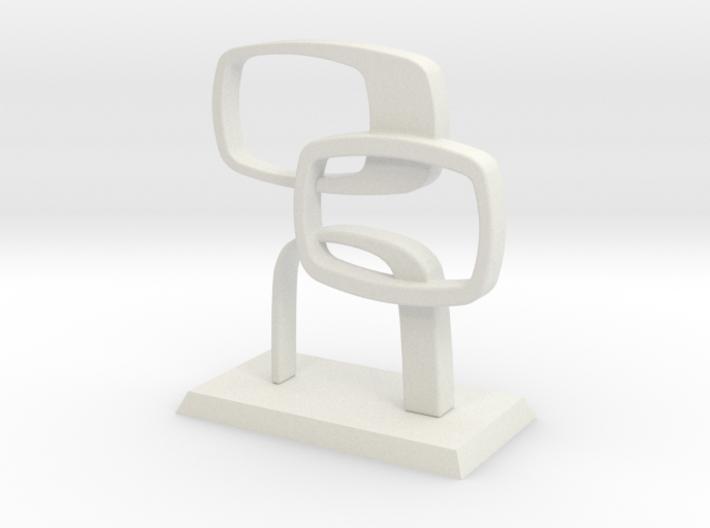 Desktop Contempo Sculpture 3d printed